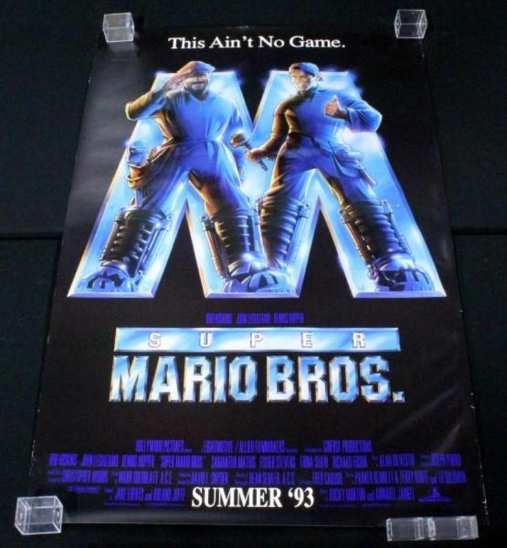 mario bros movie poster