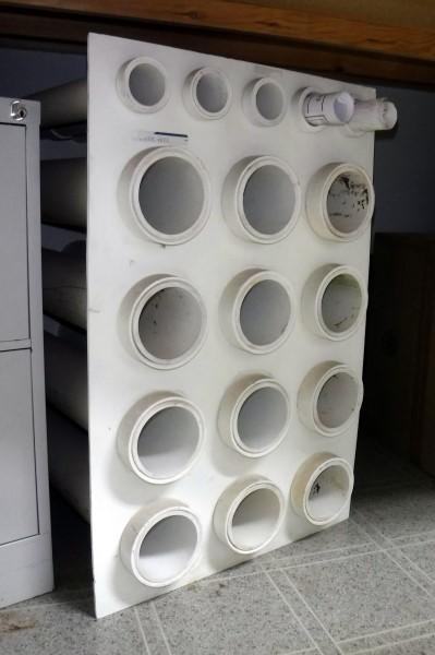 Beau Lot 774 Of 941: Homemade Blueprint Storage Rack Hold Up To 17 Blueprints