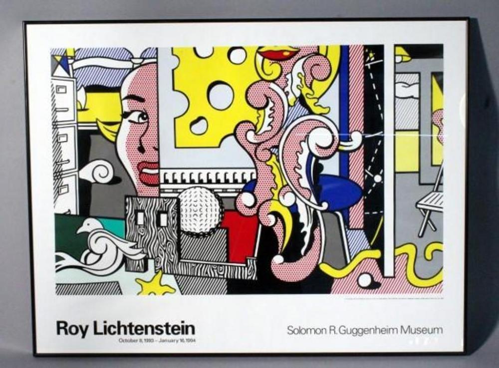 Roy Lichtenstein 1994 Guggenheim Museum Quot Go For Baroque