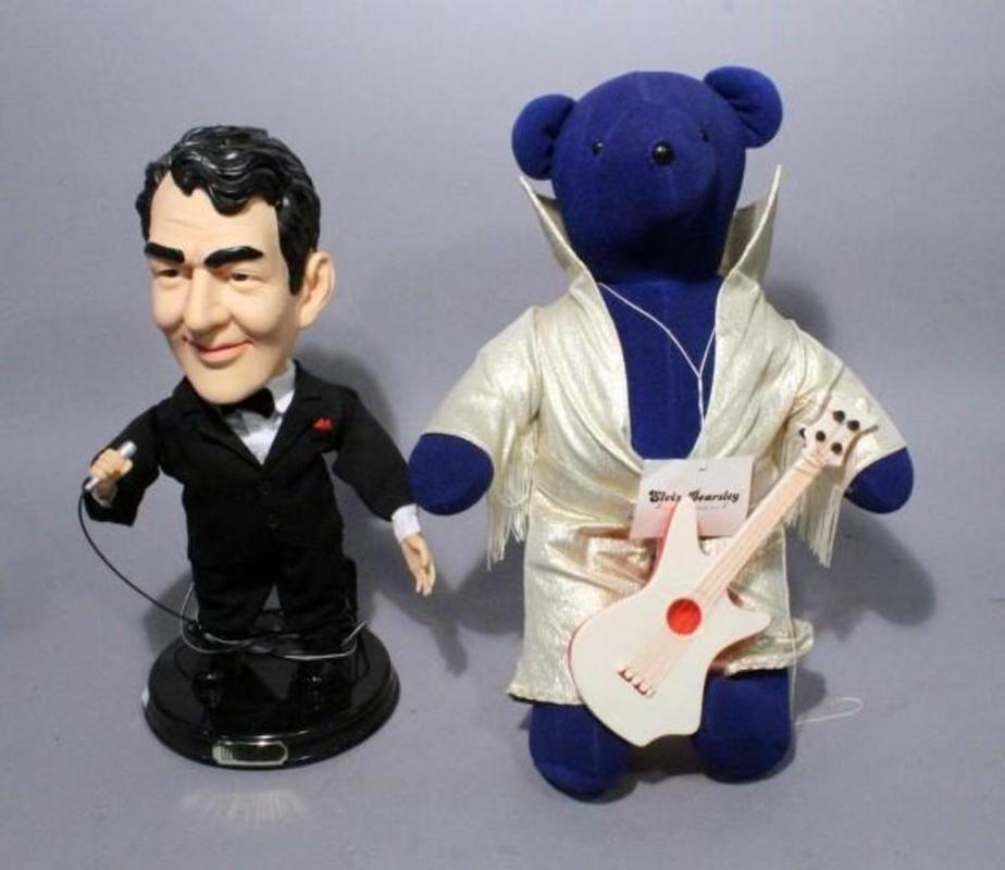 North American Bear Co Vib Elvis Bearsley 21 T With Guitar And