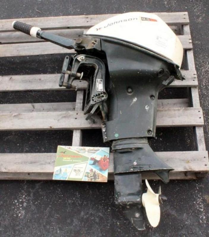 johnson 9.5 hp outboard motor manual