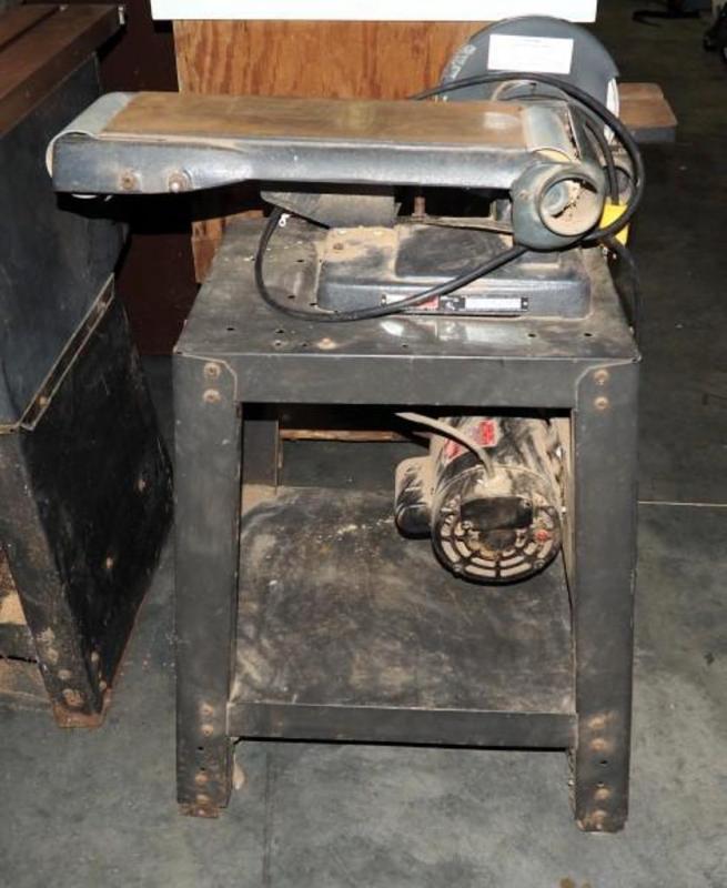 craftsman belt and disc sander. lot 301 of 420: craftsman belt and disc sander model 113.22521