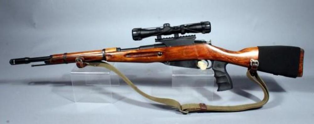Mosin Nagant 91/30 Rifle, 7 62 x 54r, SN# TE816, Sporterized