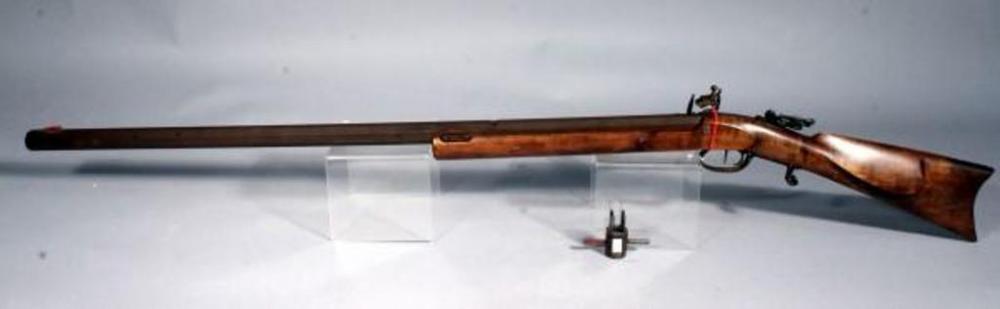 Custom Made Black Powder Rifle, Custom Octagonal Barrel  50