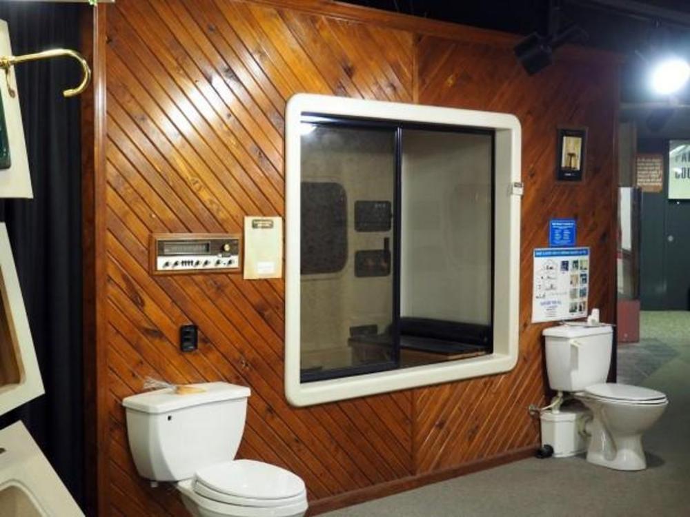 Kohler Environmental Enclosure Habitat Master Bath System in Almond ...