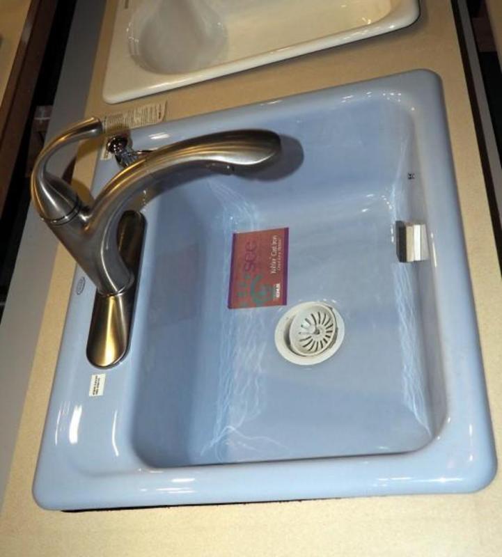 Kohler Mayfield Cast Iron Kitchen Sink 5964-4-6 25\