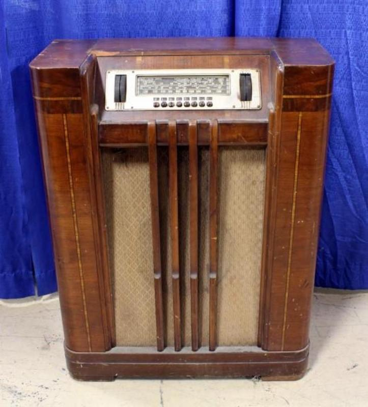 1939 Philco 40 195 Floor Radio 38 Quot H Cosmetic Damage