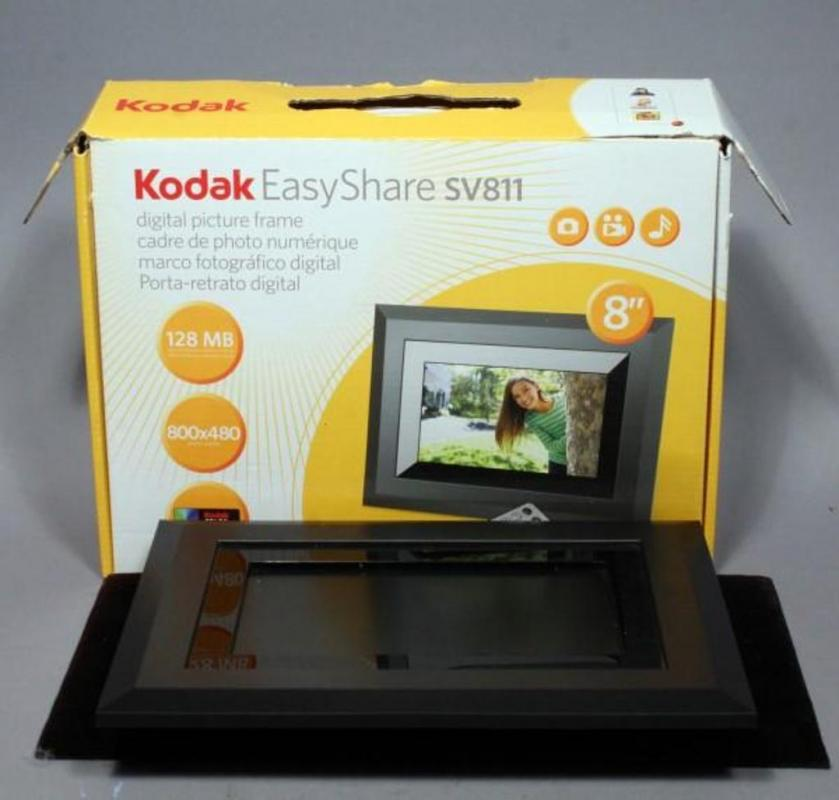 Kodak Easy Share Sv811 Digital Picture Frame 8 Includes Remote