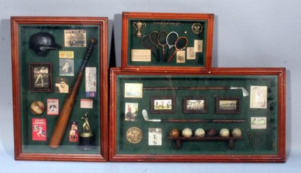 Lot 122 of 490 History Of The Tennis Racket Shadow Box Wall Art Baseball Shadow Box Wall Art History of Golf Shadow Box Wall Art 13  X 8.5  - 25  X 13  & History Of The Tennis Racket Shadow Box Wall Art Baseball Shadow ...