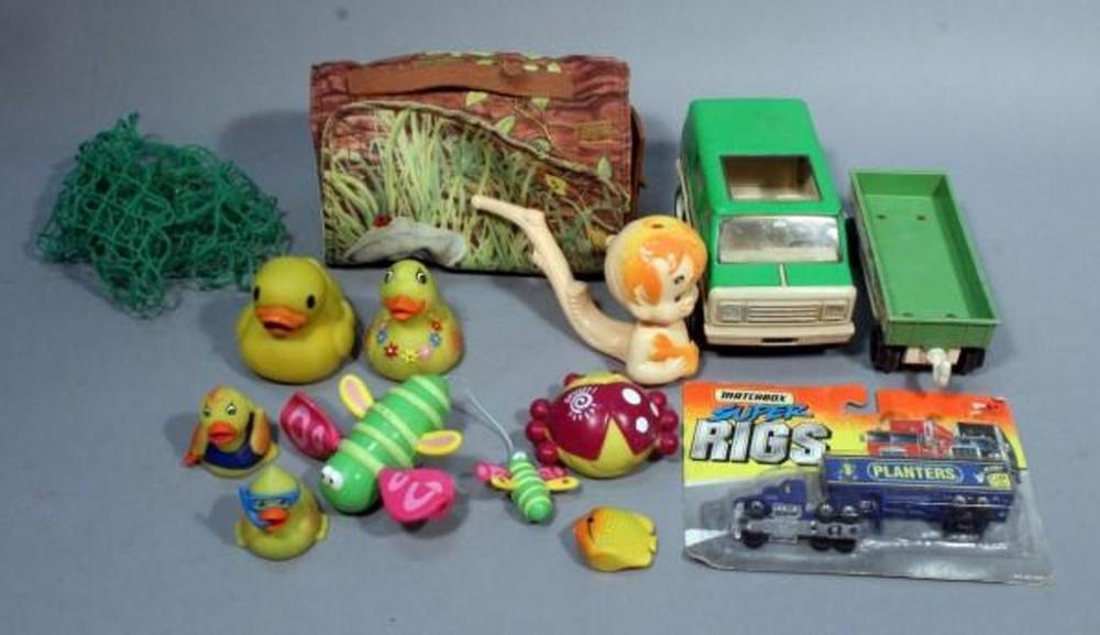 1970\'s Tonka Camper Van & Trailer, 1960\'s Bam Bam Bubble Bath Bubble ...