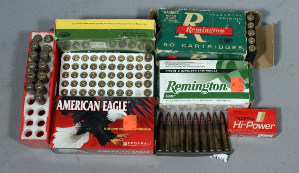 Assorted Ammo- Remington 30-20 WIN, Qty 50 Rounds, 32 Automatic, Qty