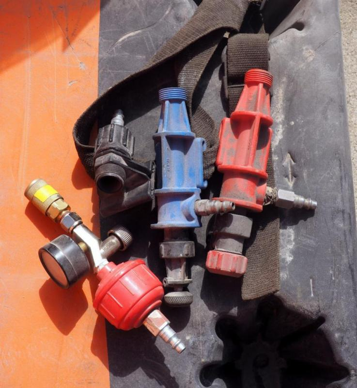 Blasting Helmet AC Fitting, Helmet Heater Fitting,Air Line Fitting