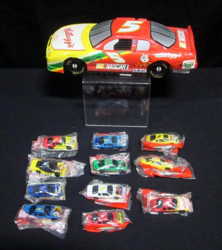 Sasco Kellogg\'s Racing NASCAR Toy Car Carrier Case, With Kellogg\'s ...
