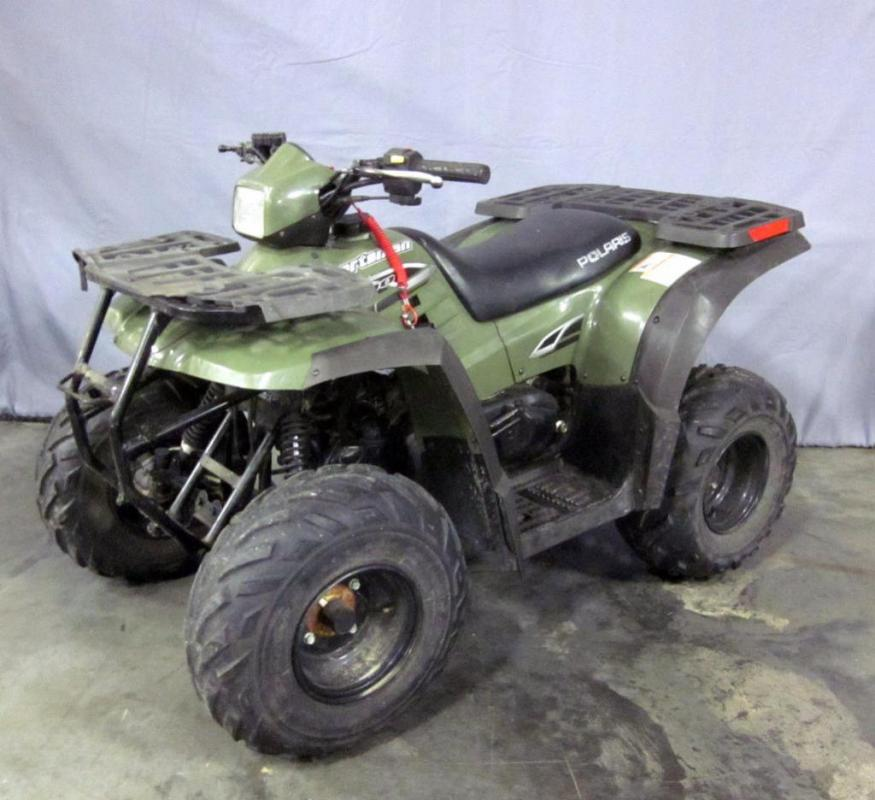 2006 Polaris Sportsman 90 Youth ATV, 4 Wheel Motorcycle with