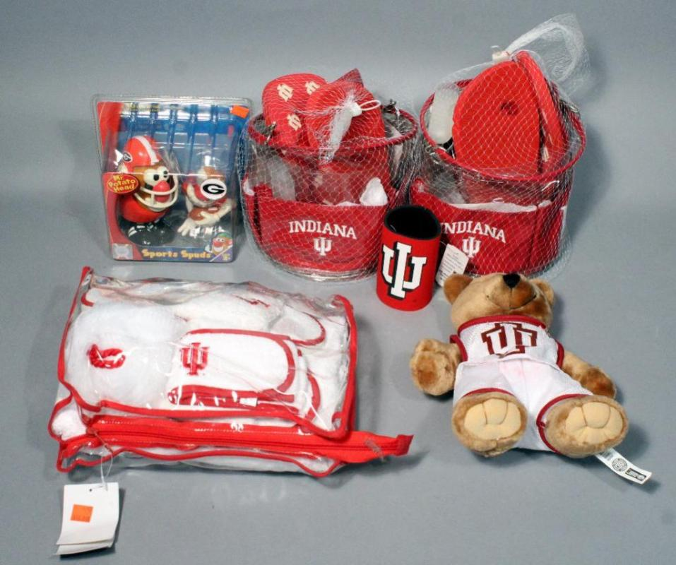 a0ad1504357 Lot 135 of 149  Indiana University Terry Bath Set