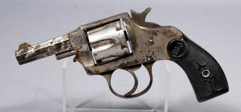 Hopkins Allen Double Action No 6 6 Shot Revolver 32 Cal Sn
