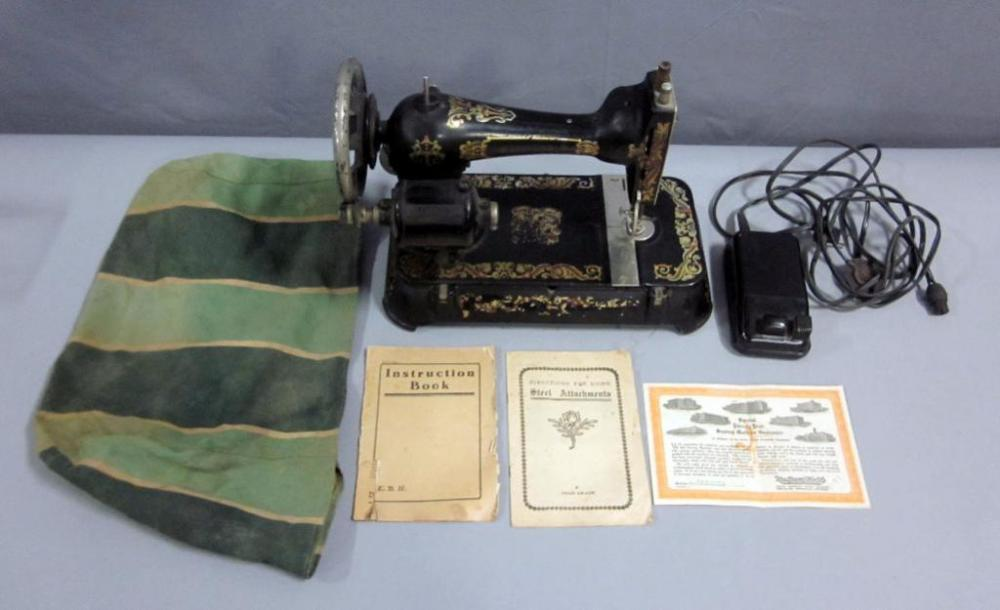 Manchester B Sewing Machine With Singer Sewing Motor Controller