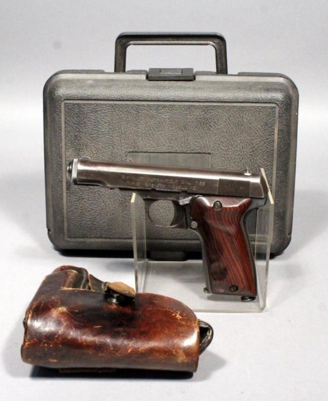 MAB French Brevete Model D WW2 Pistol, 7 65 Cal, SN# 77916
