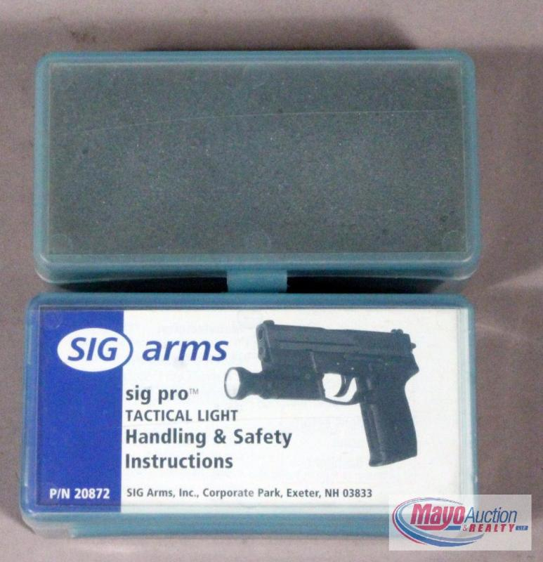 sig sauer sig arms sig pro tactical lights qty 2 new old stock