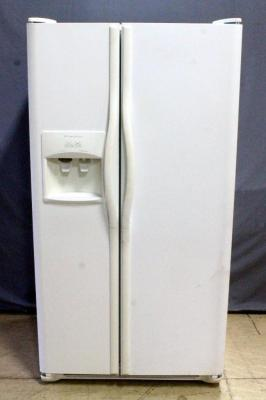 "Frigidaire Side-by-Side Fridge Refrigerator with In-Door Ice Maker / Water Dispenser, Model FRS6R4EW7, 36.5""W x 70""H x 32""D"