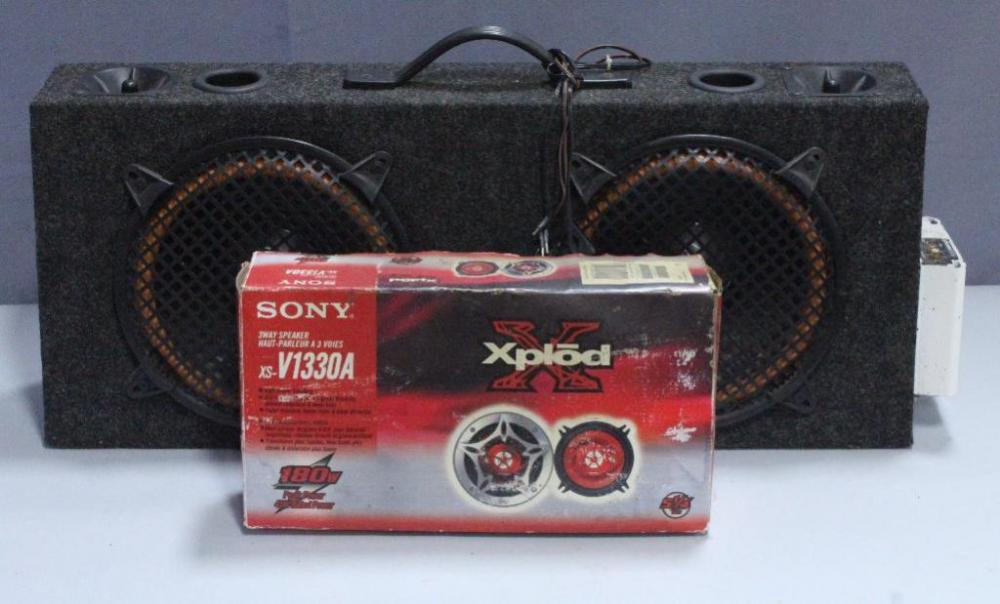 Car Subwoofer Amp Combo System Sound Storm Ssl200 120w Amp With 10