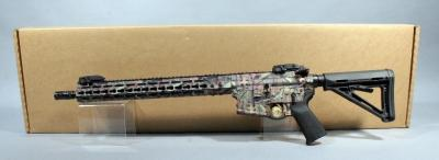 "SMI-15 BCR Model 3 AR 15 Rifle, 7.62 x 39, SN# SMI-B01005,16"" BBL, 1:10 Twist, Real Tree Anodized, New"