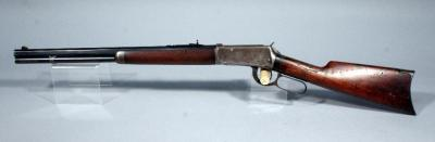 "Winchester 1910 Model 1894 Lever Action Rifle, .25-35 WCF, SN# 536097, 20"" Octagonal Nickel Steel BBL"