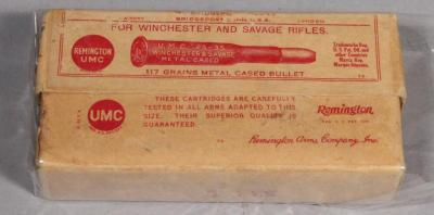 Remington UMC .25-35 Smokeless WCF Metal Cased Bullets, Qty 20, for Winchester 1910, LOCAL PICKUP ONLY