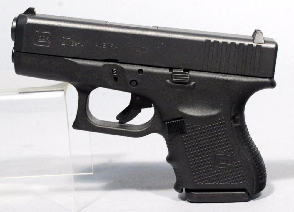 Glock 27 Gen 4 Pistol,  40 Cal, SN# URA439, 9 Rd Mag