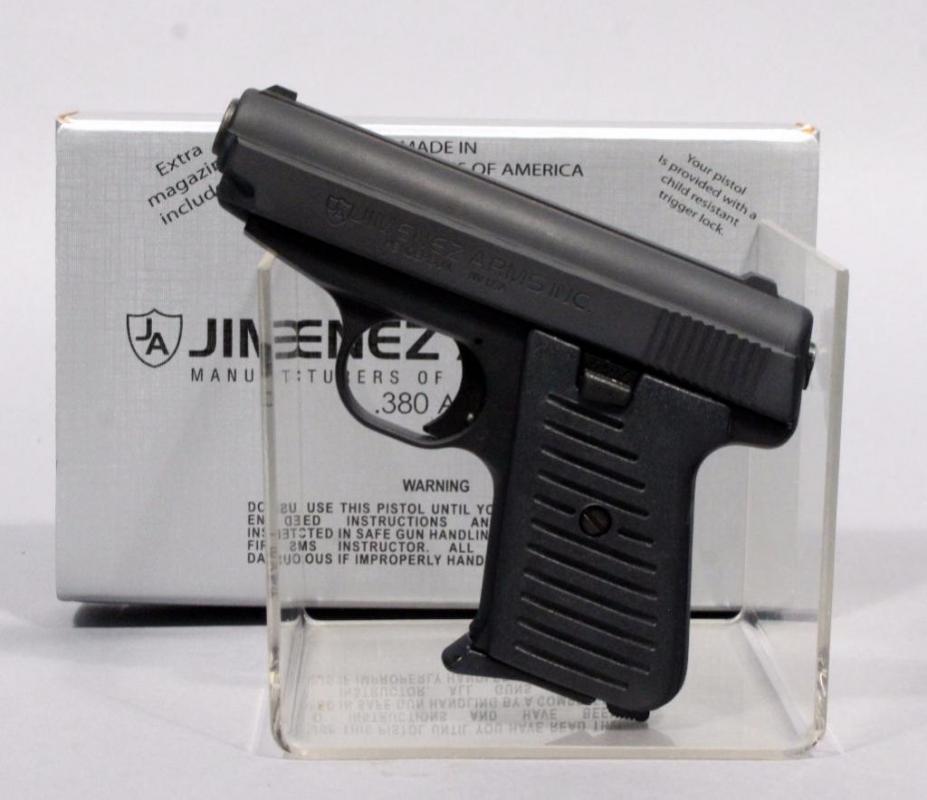 Jimenez Arms Model J A  380 Pistol,  380 Auto, SN# 403460, Includes