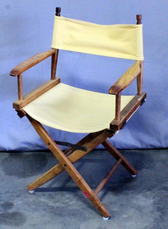 Lot 49A Of 338: Pier 1 Folding Directors Chair