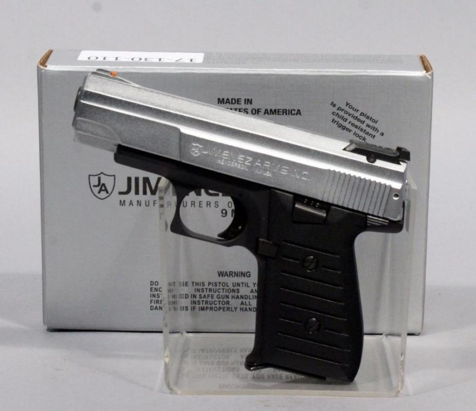 Jimenez Arms Model J A  Nine Pistol, 9mm, SN# 410971