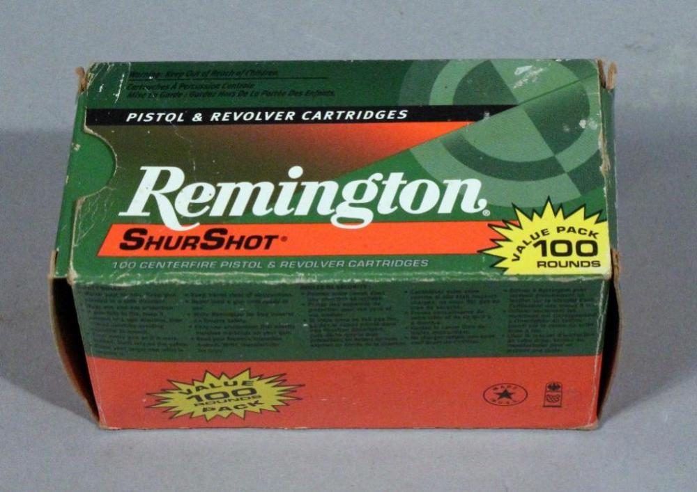 Remington ShurShot 9mm Ammunition, Qty 1 Box = 100 Rounds, Local