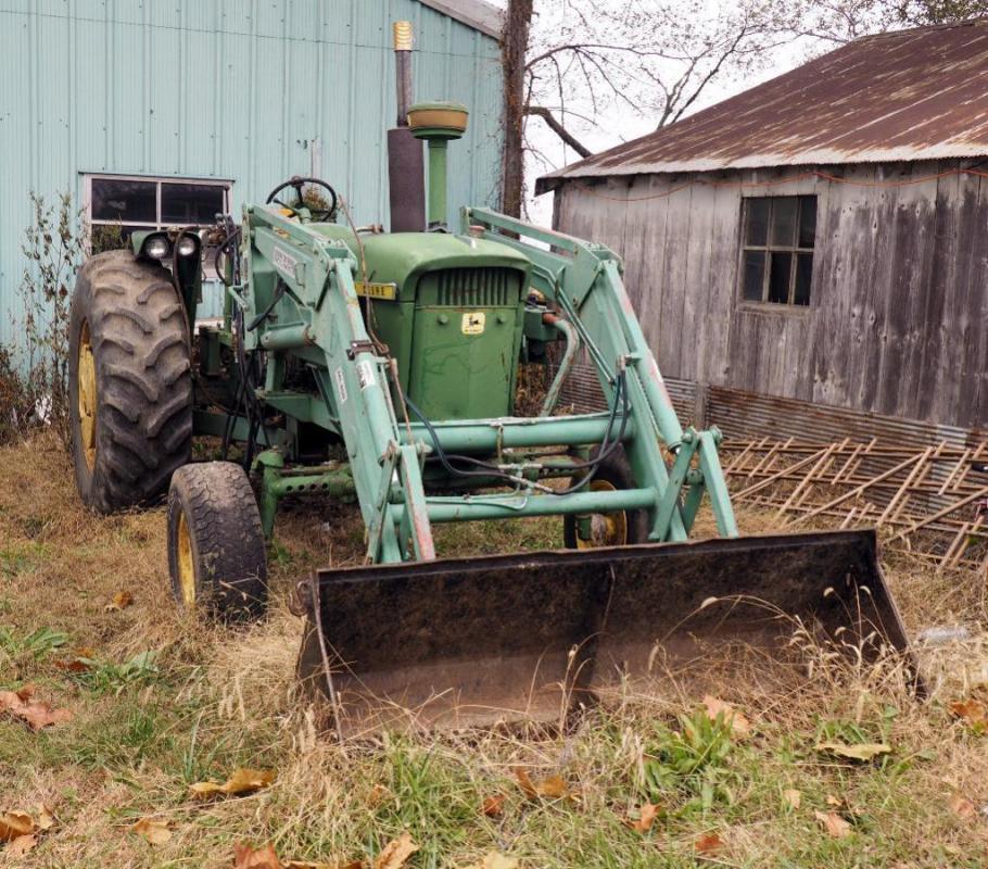 John Deere 4020 Agricultural Tractor, 96 PTO Horsepower, 6