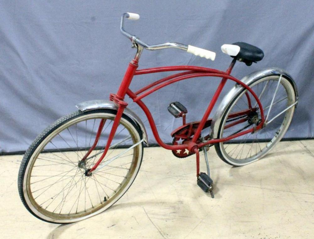 Vintage Schwinn Deluxe Cruiser Bicycle, Bike, Used With Wear