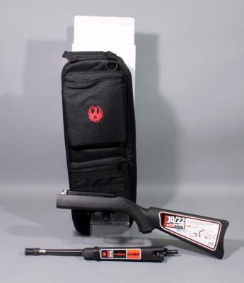 Ruger 10/22-TDT Takedown Rifle, .22 LR, SN# 0004-52130, New With Bag And Paperwork