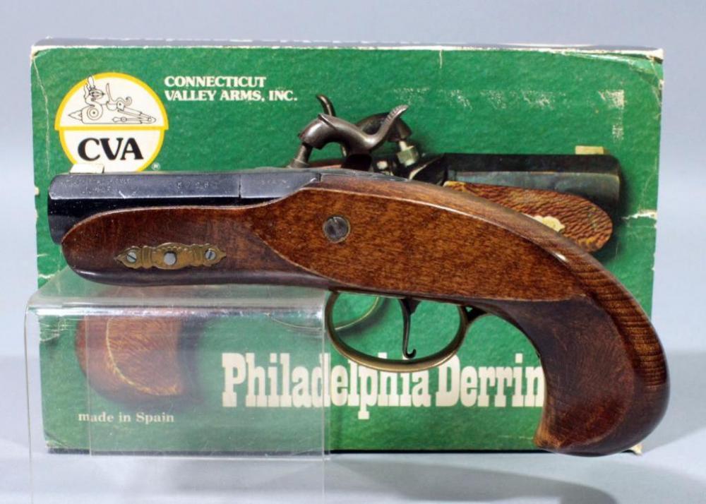 CVA PP204 Philadelphia Derringer Single Shot Black Powder