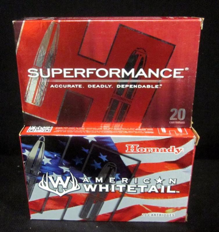Hornady American Whitetail and Superformance 7mm REM MAG