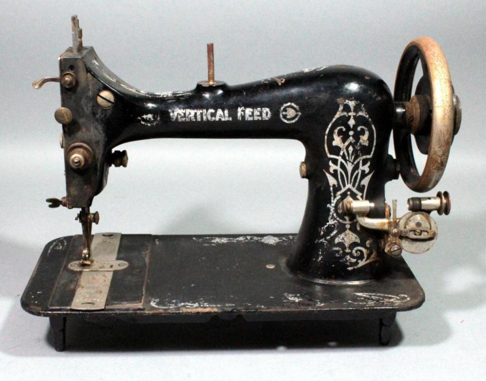 Antique VertIcal Feed Sewing Machine SN 40 Mesmerizing What Is A Vertical Sewing Machine