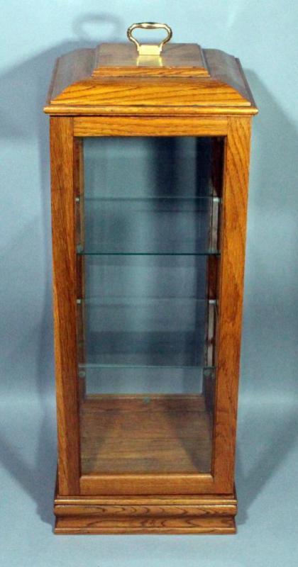 Lot 249 Of 392 Knick Knack Collectible 3 Tier Display Case 10 W X 30 H D