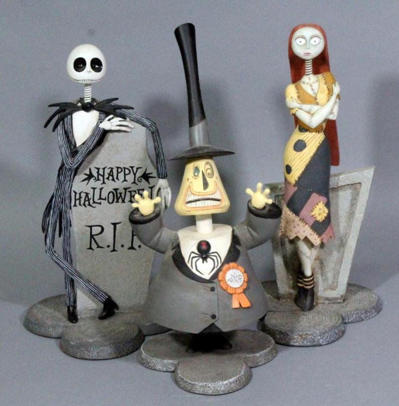 Tim Burton Nightmare Before Christmas Jack And Sally.Disney Tim Burton Nightmare Before Christmas Jack
