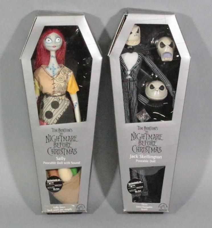 Nightmare Before Christmas Coffin Dolls, Qty 2, Sally