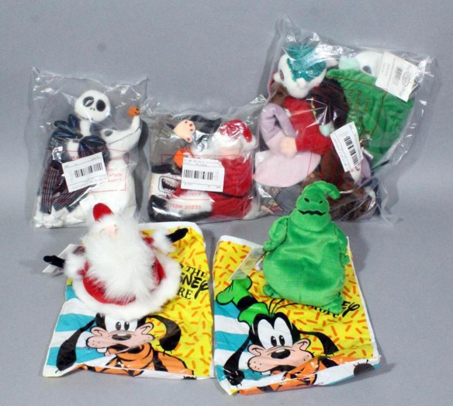5d063b3fb2b0d Lot 56 of 283  Nightmare Before Christmas Disney Store Mini Plush Bean Bag  Beanies