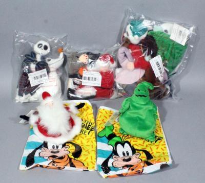 Nightmare Before Christmas Mayor Disney Bean Bag Plush