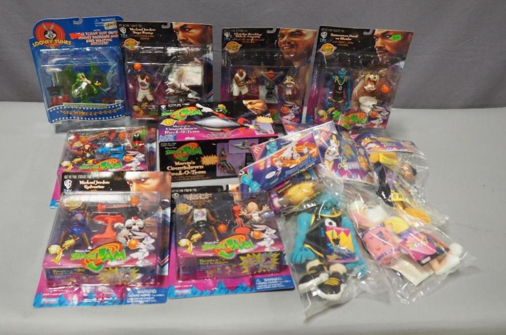 Space Jam Collectors Lot 6 Action Figures 5 Mcdonalds Plush