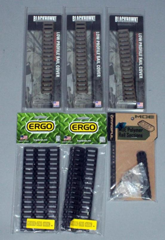 d302c387083 Lot 213 of 761  Magpul Polymer Rail Sections