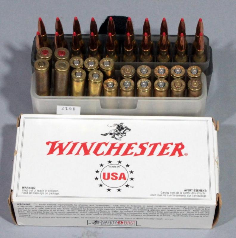 Roberts 6mm - 257R 40 Gr Ammunition, Qty 25 Rds, 30-06 Ammo