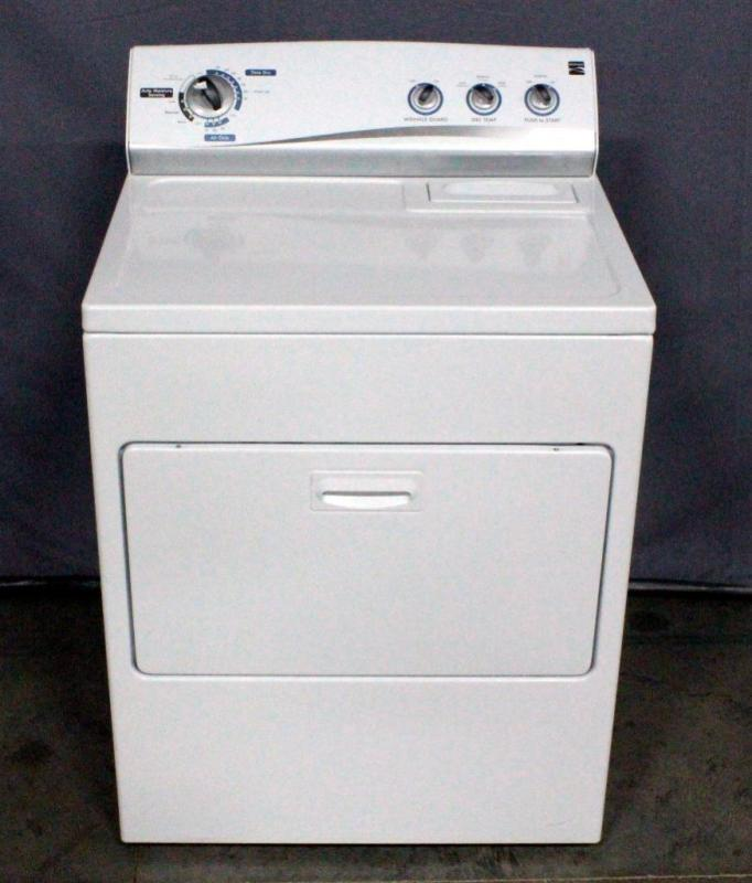 Lot 33 Of 278 Kenmore Model 110 61202017 Electric Dryer 7 Cu Ft Auto Moisture Sensing Wrinkle Guard Includes Manual Sn M13312820