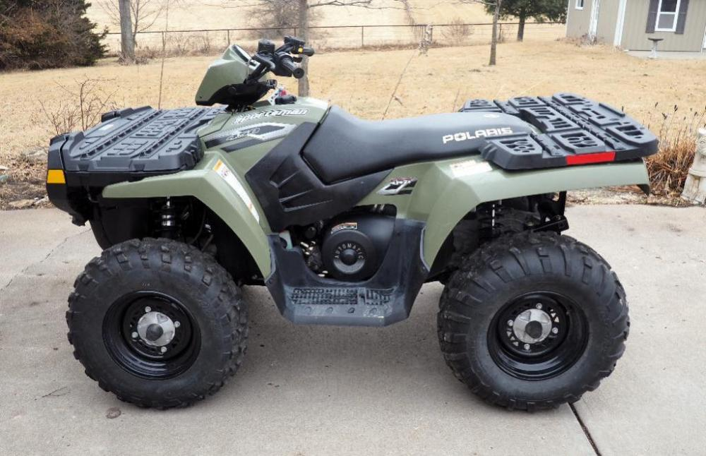 2006 Polaris Sportsman 450 H O 4 Wheeler 812 Miles Automatic
