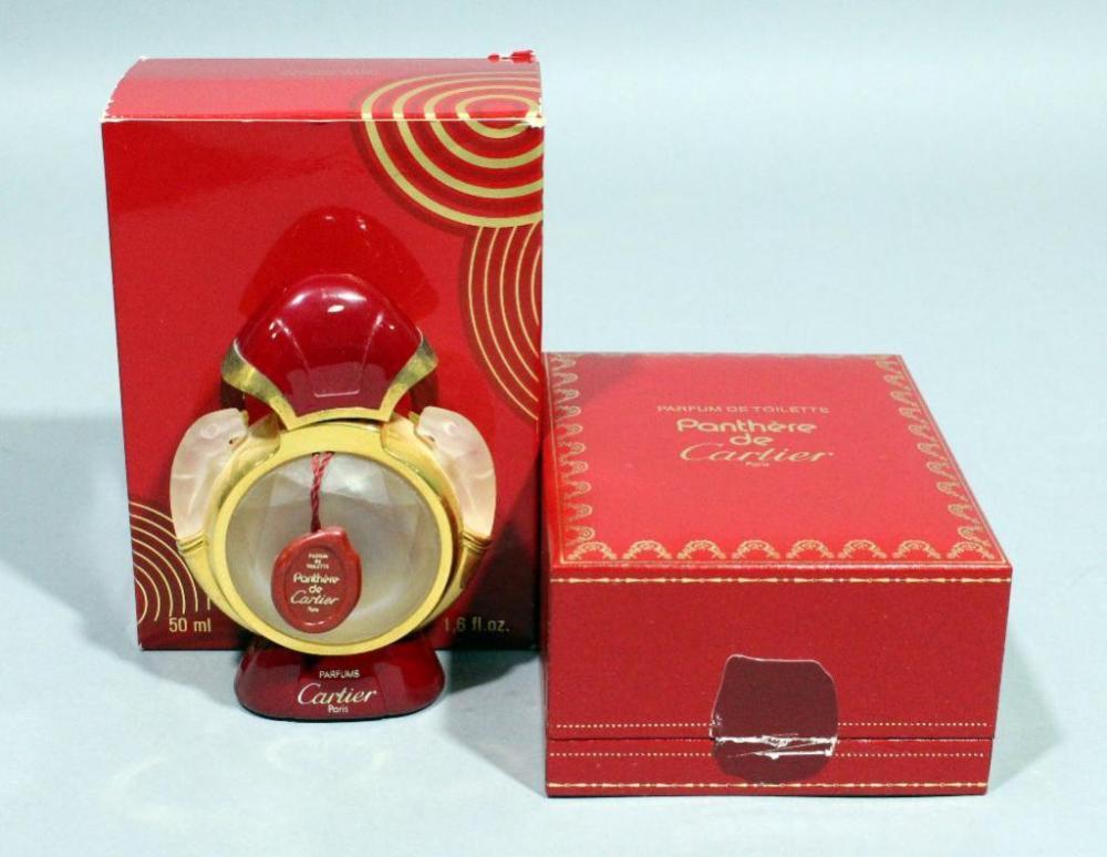 Vintage Panthere De Cartier Parfum De Toilette 50ml 16 Fl Oz Empty